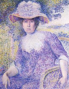 Henri Edmond Cross - Portrait of Madame Cross