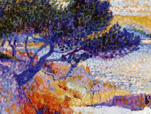 Henri Edmond Cross - The Bay of Cavaliere (study)