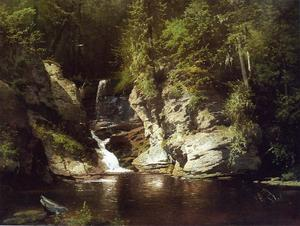 Herman Herzog - Woodland Pool, Newry, Maine