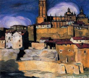 Ignacio Zuloaga Y Zabaleta - The cathedral of Segovia
