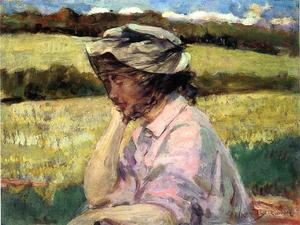 James Carroll Beckwith - Lost in Thought