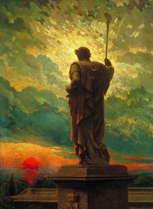 famous painting The emperor of James Carroll Beckwith