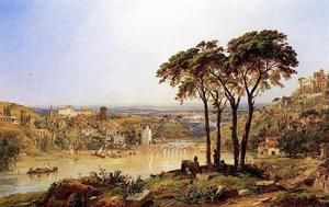 Jasper Francis Cropsey - Summer, Noonday on the Arno