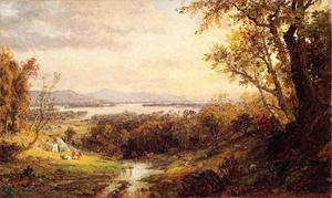 Jasper Francis Cropsey - View of the Hudson 1