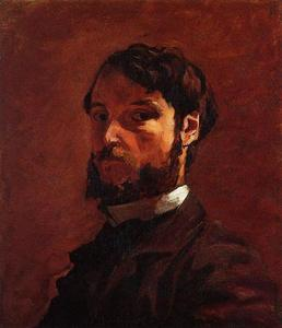 Jean Frederic Bazille - Portrait of a Man