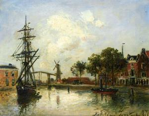 Johan Barthold Jongkind - Entry to the Port, Rotterdam