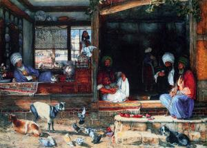 John Frederick Lewis - The Kibab Shop, Scutari, Asia Minor