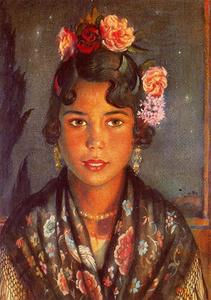 Jorge Apperley (George Owen Wynne Apperley) - Concha, the gypsy girl