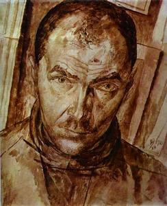 Kuzma Petrov-Vodkin - Self-Portrait 1
