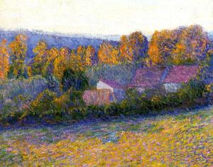 Lilla Cabot Perry - Autumn Afternoon, Giverny