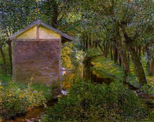 Lilla Cabot Perry - Brook and Wash-house, Giverny
