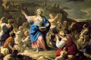 Luca Giordano - Song of Miriam 1