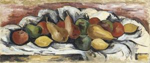 Marsden Hartley - Still Life with Fruit