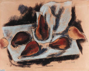 Marsden Hartley - Still Life with Pears 1