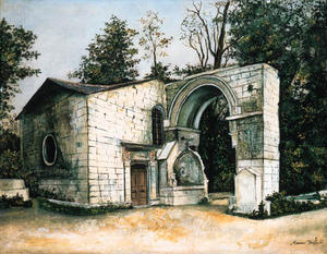 Maurice Utrillo - The roman chapell