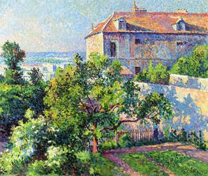 Maximilien Luce - Montmartre, the House of Suzanne Valadon