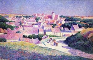 Maximilien Luce - Moulineux, the Entrance to the Village