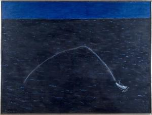 Milton Avery - Speedboat's Wake