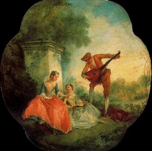 Nicolas Lancret - The Music Lesson