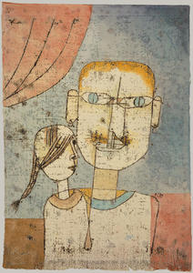 Paul Klee - Adam and Little Eve