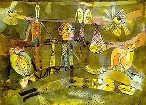 Paul Klee - End of a Last Act of a Drama