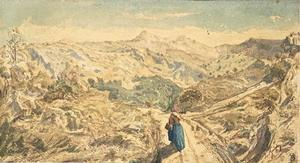 Paul Camille Guigou - A mountain road