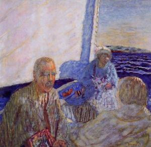 Pierre Bonnard - Boat trip (family Hahnloser)
