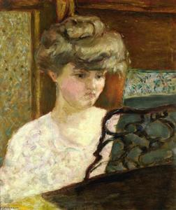 Pierre Bonnard - Misia at the Piano (aka Portrait of Misia Natanson)