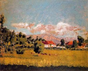 Pierre Bonnard - Small landscape of Dauphine