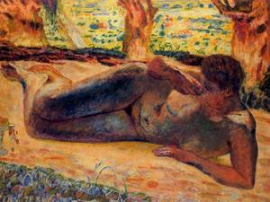 Pierre Bonnard - The Great Nude reclining