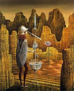 Remedios Varo - Discovery of a Mutant Geologist