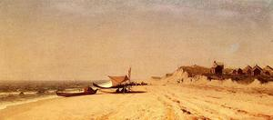 Sanford Robinson Gifford - Long Branch Beach
