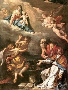 Sebastiano Ricci - Pope Gregory the Great Saving the Souls of Purgatory 1