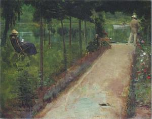 John Lavery - A grey summer's day