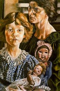 Stanley Spencer - Hilda, Unity and Dolls