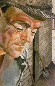 Stanley Spencer - The Furnace Man