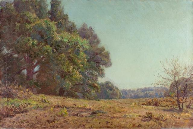 famous painting A Day in June of Theodore Clement Steele