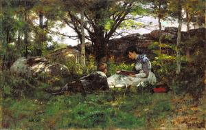 Theodore Clement Steele - A June Idyl