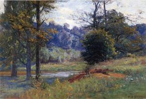 Theodore Clement Steele - Along the Creek (aka Zionsville)