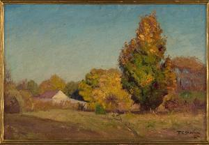 Theodore Clement Steele - Autumn Scene