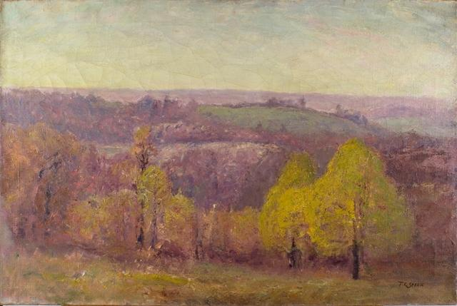 famous painting Autumn of Theodore Clement Steele