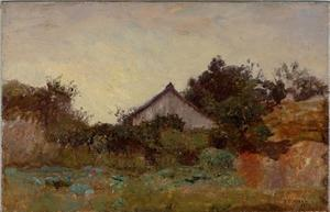 Theodore Clement Steele - Cabin in the Wildwood