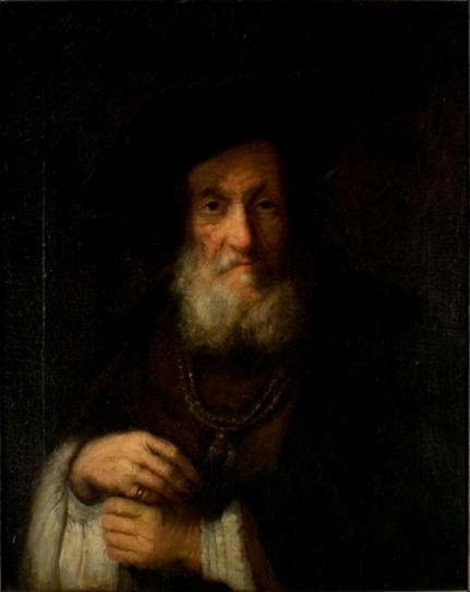 famous painting Copy of a Rembrandt of Theodore Clement Steele