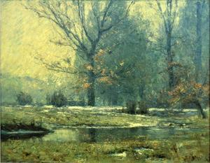 Theodore Clement Steele - Creek in Winter