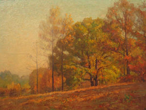 Theodore Clement Steele - Fall in the Hills