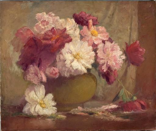 famous painting Flowers of Theodore Clement Steele