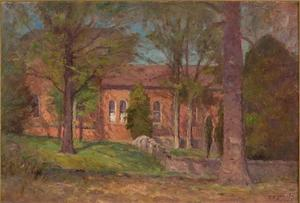 Theodore Clement Steele - God's Acre on the Campus