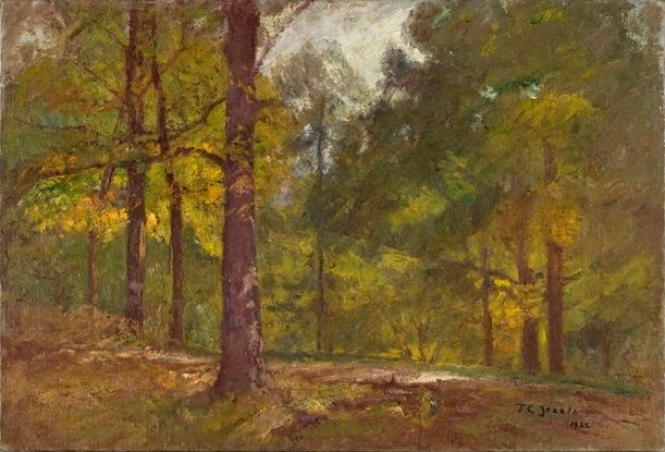 famous painting Golden Autumn of Theodore Clement Steele