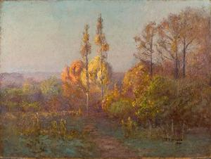 Theodore Clement Steele - In Crooked Creek Valley