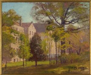 Theodore Clement Steele - Indiana University Campus, Bloomington